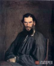 Kramskoi Ivan. Portrait of the Writer Lev Tolstoy. 1873