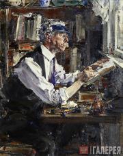 Fechin Nikolai. Portrait of a Printer W.G. Watt. 1924