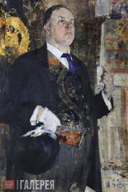 Fechin Nikolai. Portrait of David Burliuk. 1923