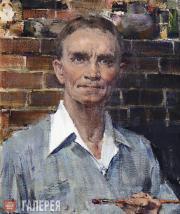 Fechin Nikolai. Self-portrait. 1948