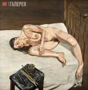 Freud Lucian. Naked Portrait. 1972-1973
