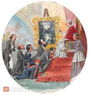 Scotti Mikhail. Visit to the Pope. 1843-1844