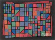 Klee Paul. Glass Façade. 1940