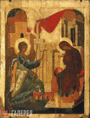 Andrei RUBLEV (c.1360-1430) and Daniil CHERNY. Annunciation. 1408