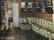 Grigory Soroka (?). Inside the House. Lounge in the old house of the Bogdanovsko