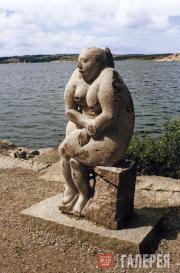 Korneev Viktor. Swedish Madonna. 1997