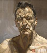 Freud Lucian. Reflection (Self-portrait). 1985