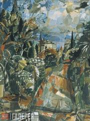Rusanov Viktor. Landscape. 1987