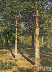 Шишкин Иван Иванович. Сосны, освещенные солнцем. 1886
