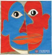 Kosarev Boris. Portrait of Pablo Picasso. 1921