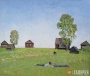 Sidorov Valentin. In the Meadow. 1968