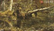 Шишкин Иван Иванович. Лес (Шмецк близ Нарвы). 1888
