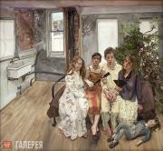 Freud Lucian. Large Interior, W11 (after Watteau). 1981-1983
