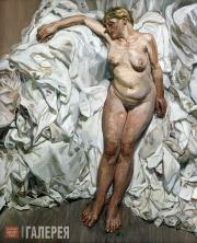Freud Lucian. Standing by the Rags. 1988-1989