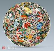 Plate. Qing dynasty. 18th century