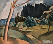 Sacharoff Olga. Catalan Landscape. 1920
