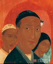 Старший брат (Три лица. Узбеки). 1921