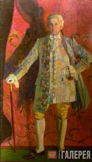 Golovin Alexander. Portrait of Dmitry Smirnov as Chevalier des Grieux