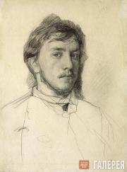 Serov Valentin. Self-portrait. 1885