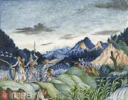 Lermontov Mikhail. A Unit of Ancient Warriors. 1826-1827 (?)