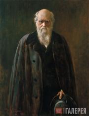 Кольер Джон. Портрет Ч. Дарвина. 1883