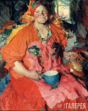Arkhipov Abram. A Girl with a Jug. 1927