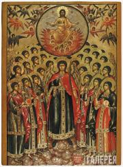 The Assembly of the Archangel Michael. Early 18th century