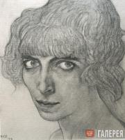 Л.С.Бакст. Портрет Л.Казати. 1912