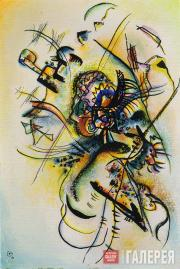 "Kandinsky Wassily. Composition J. ""To the Unknown Voice"". 1916"