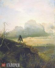 Savrasov Alexei. The Grave by the Volga. Yaroslavl Region. 1874