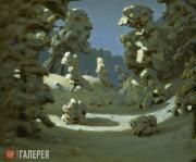 Kuindzhi Arkhip. Sun Spots on Frost. 1876-1890