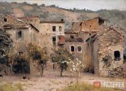 Levitan Isaaс. Near Bordighera. North Italy. 1890