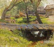 Levitan Isaaс. Little Bridge. Savvinskaya Township. 1884