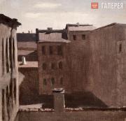 Kuindzhi Arkhip. Rooftops. 1885-1890