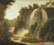 Shchedrin Sylvester. Waterfall in Tivoli. Early 1820s