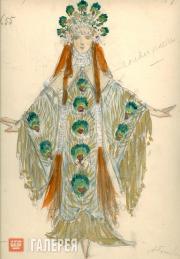 Golovin Alexander, Telyakovskaya Gurly. Female costume design