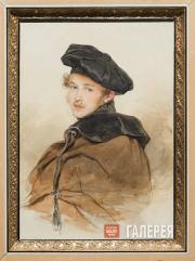 Sokolov Pyotr. Portrait of Prince Sergei Trubetskoy. 1830s