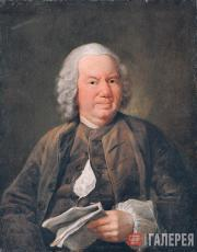Ivan ARGUNOV. Portrait of K.A. Khripunov. 1757