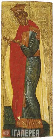 Неизвестный художник. Князь Владимир, из деисусного чина. Первая треть XV в.