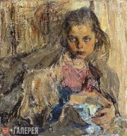 Fechin Nikolai. Katenka. 1912
