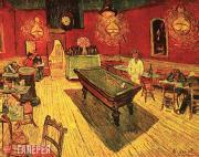 Vincent van Gogh. Café de Nuit (The Night Café). 1888