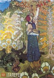 Polenova Yelena. Fairytale (The Beast). 1890s
