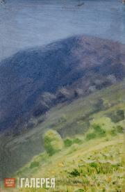 Kuindzhi Arkhip. Mountain Slope. Crimea. 1887