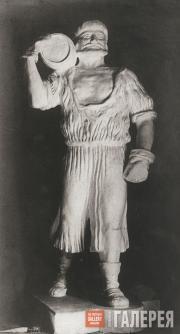 Rukavishnikov Mitrofan. Dockhand with a Barrel. 1912-1913