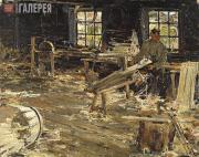 Fechin Nikolai. In the Cooperage. 1914