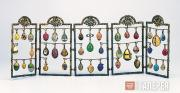 Faberge Karl. 5-section decoration piece with 40 miniature eggs. Early 20 centur