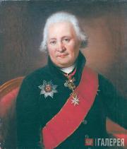 Nikolai ARGUNOV. Portrait of Nikolai Bantysh-Kamensky. 1809-1814