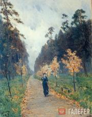 Levitan Isaaс. Autumn Day. Sokolniki. 1879