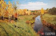 Levitan Isaaс. Golden Autumn. 1895