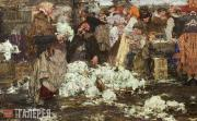 Fechin Nikolai. The Cabbage Seller. 1909